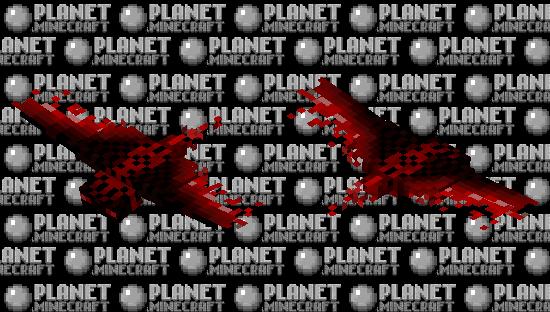 The Bloody Phantom Minecraft Skin