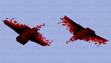 The Bloody Phantom Minecraft Mob Skin