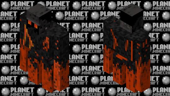 Magma Golem: Minecraft Story Mode Minecraft Skin