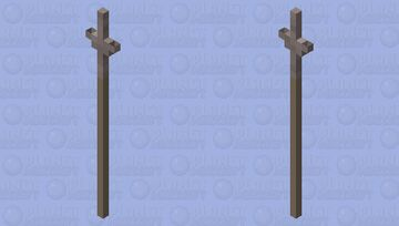 𝕯𝖊𝖗 𝕾𝖕𝖊𝖊𝖗 𝕶𝖆𝖗𝖑𝖘 𝖁𝖔𝖓 𝕲𝖗𝖔ß𝖊𝖓 (German Medieval Spear) Minecraft Mob Skin