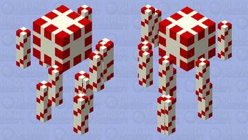 Peppermint Blaze Minecraft Mob Skin