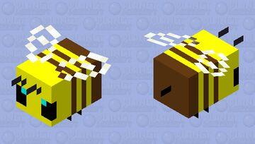 Simplified Bee Minecraft Mob Skin