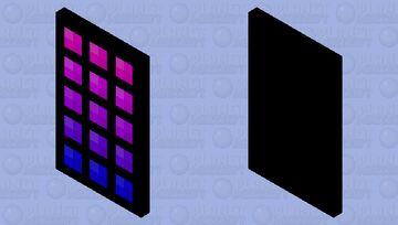 NE0N cape 2 (Alt versions in description) Minecraft Mob Skin