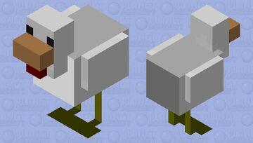 Dehydrated Chicken Minecraft Mob Skin