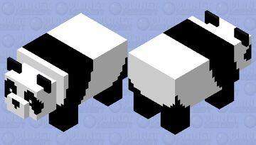 Simplified Panda Minecraft Mob Skin