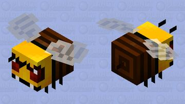 Killer bee (Africa and America) Minecraft Mob Skin