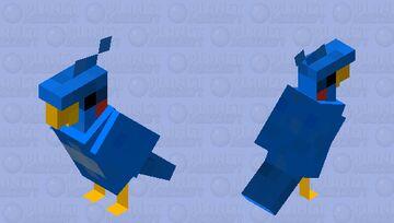 Flicky - Sonic the Hedgehog Minecraft Mob Skin
