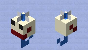 probably the only fishing bobber skin that will ever exist. Minecraft Mob Skin