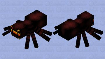 Nether spider Minecraft Mob Skin