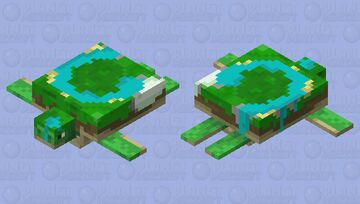 World Turtle Minecraft Mob Skin