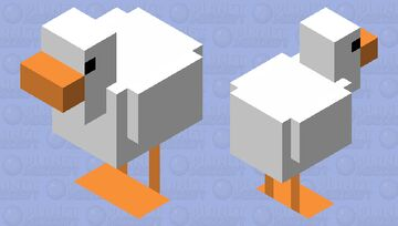 Untitled Goose Minecraft Mob Skin