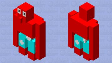 Larry The Lobster Minecraft Mob Skin