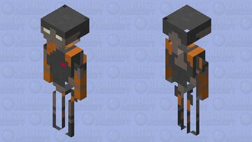 Star Wars Commando Droid Minecraft Mob Skin