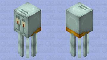 Squid-Ward Minecraft Mob Skin