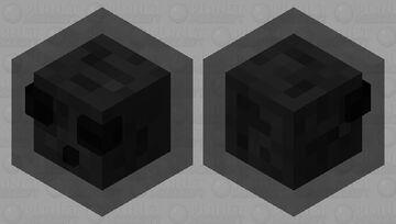 black slime Minecraft Mob Skin