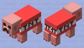 Pig = Boom Minecraft Mob Skin