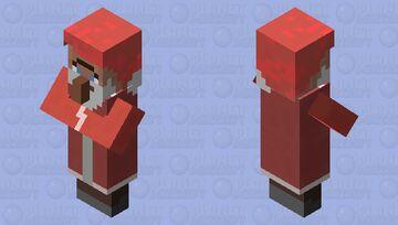 Santa Villager Minecraft Mob Skin