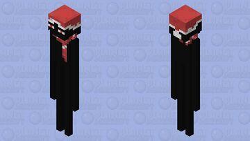 Christmas Enderman Minecraft Mob Skin
