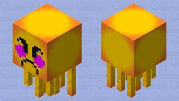 Angry Blush Emoji Ghast Minecraft Mob Skin