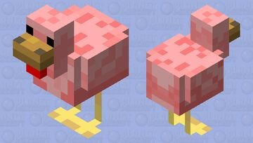 Featherless. Biped. THIS IS A MAN! Minecraft Mob Skin