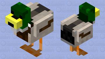 Mallard Duck Minecraft Mob Skin