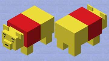 Winnie-the-Pooh (Disney) Minecraft Mob Skin