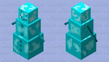 Freezy golem Minecraft Mob Skin