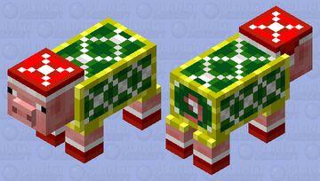 Christmas Pig Minecraft Mob Skin