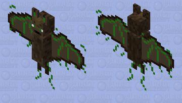 Radioactive Bat Minecraft Mob Skin