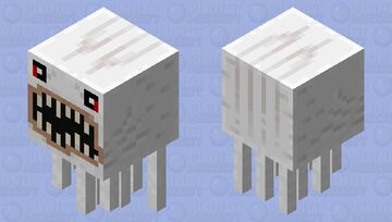 Yet another disturbing mad thing Minecraft Mob Skin