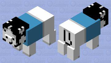 Temmie From Undertale Minecraft Mob Skin