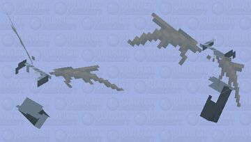 Glitched Vex Minecraft Mob Skin
