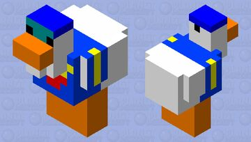 donald duck Minecraft Mob Skin