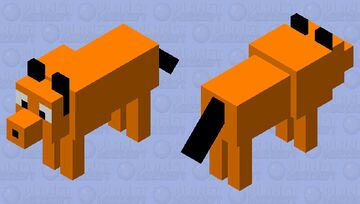 Pluto  (disney) Minecraft Mob Skin