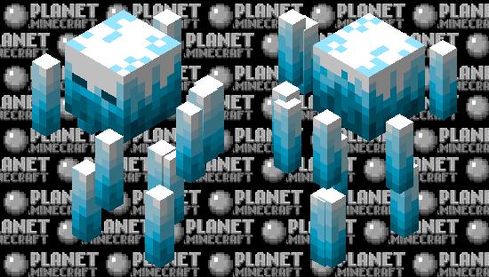 Ice Blaze (Blizz) Minecraft Skin