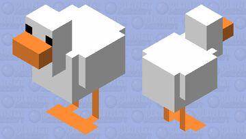 Untitled Goose Game chicken skin Minecraft Mob Skin