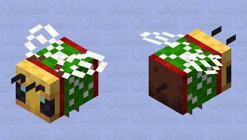 Christmas Bee Minecraft Mob Skin