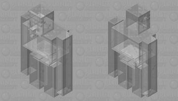 Glass Golem Minecraft Mob Skin