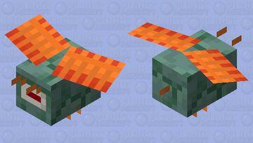 Guardian bee Minecraft Mob Skin