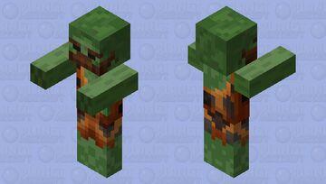 Caveman Zombie Minecraft Mob Skin