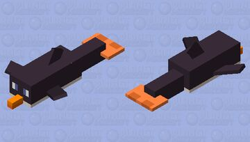 Topper the Penguin Minecraft Mob Skin