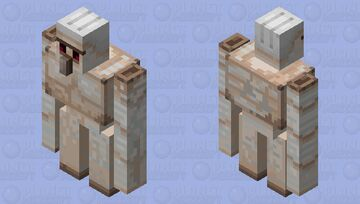 Cleaner Iron Golem Minecraft Mob Skin