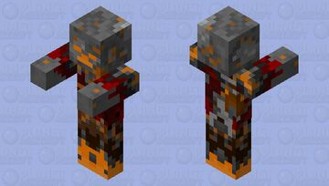 Scorched Minecraft Mob Skin