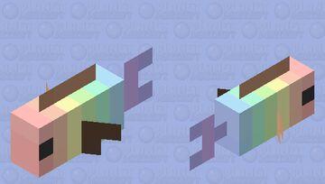 Cute Pastel Fish ~Octo-Violet Minecraft Mob Skin