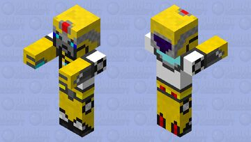 Endless Tussle: Bumbles (Zombie) Minecraft Mob Skin