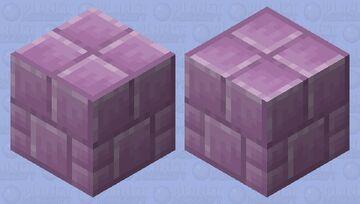 Purpur Golem Minecraft Mob Skin