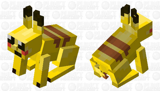 Pokemon Pikachu Minecraft Skin