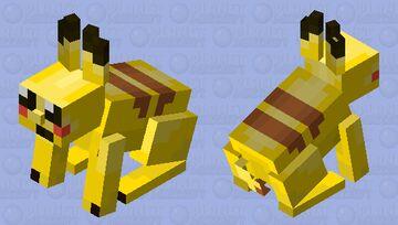 Pokemon Pikachu Minecraft Mob Skin