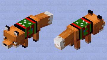 Sweater Fox Minecraft Mob Skin