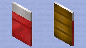 Portable bed Minecraft Mob Skin